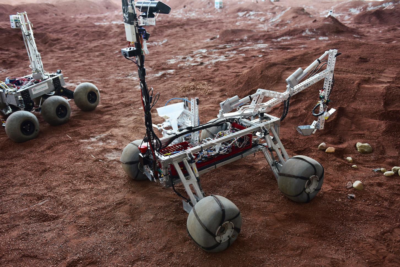 Mark One - Applicazioni Rover spaziale