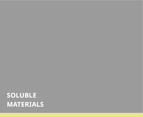 Soluble Materials